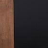 Lawyer's Vintage Espresso Reclaimed Wood 4 Drawer Desk
