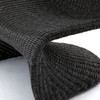 Portia Charcoal Woven Rope Outdoor S Chair