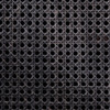 "Tilda Black Woven Cane 4 Arched Door Sideboard 78"""