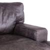 """Loft Retro Industrial Black Leather Club Chair 41"""""""