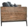 Emmy Reclaimed Wood Sofa - Navy