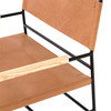 Jack Leather Chair Chestnut Brown