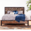 Mayan Reclaimed Wood King Platform Bed
