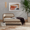 """Tremaine Left Arm Cane Chaise Daybed 60"""""""