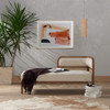 """Tremaine Right Arm Cane Chaise Daybed 60"""""""