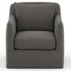 Dade Outdoor Swivel Chair
