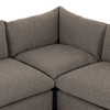 """Westwood Torrance Rock 3-Piece Sectional 122"""""""