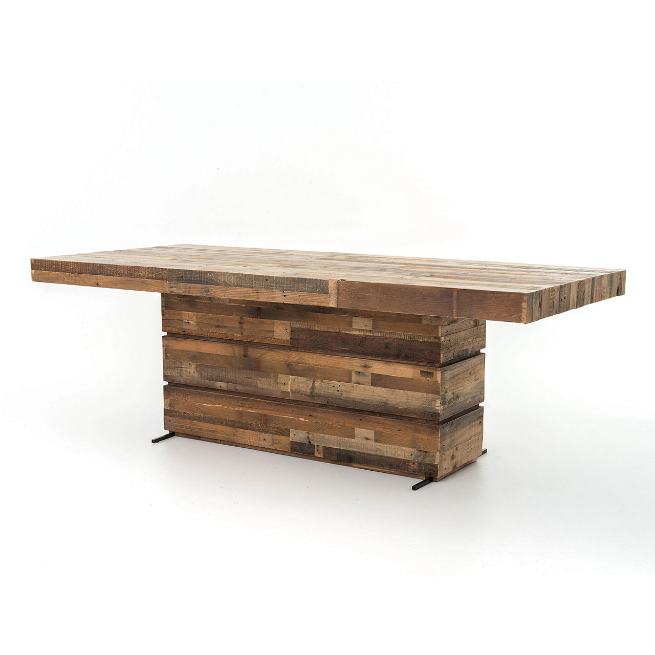 Angora Rustic Reclaimed Wood Dining Table 89 Zin Home