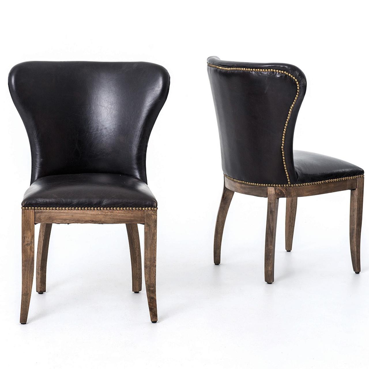 جزر البحر البيع المسبق يصلح Leather Dining Chairs Psidiagnosticins Com