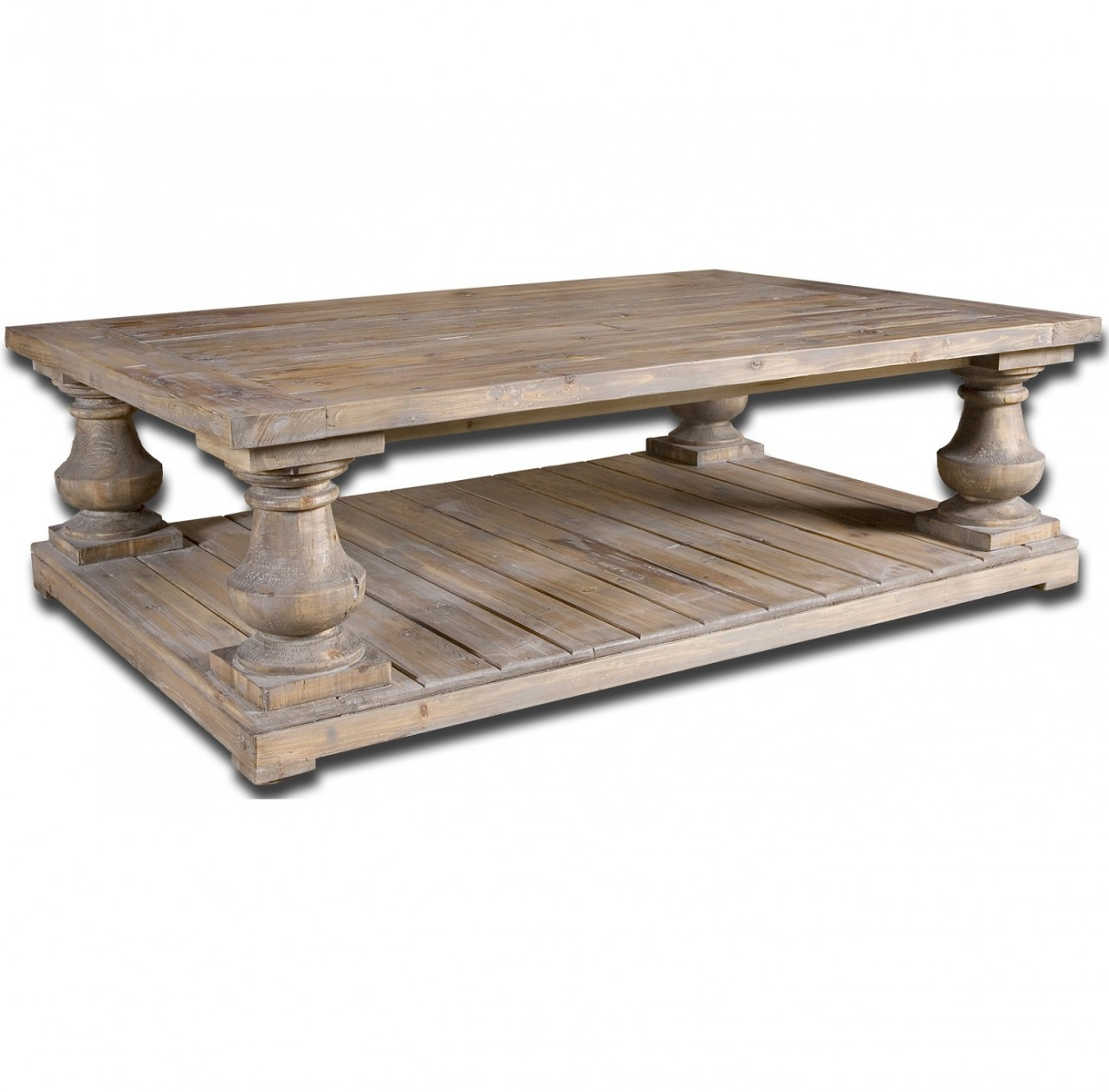 - Salvaged Wood Rustic Coffee Table 60