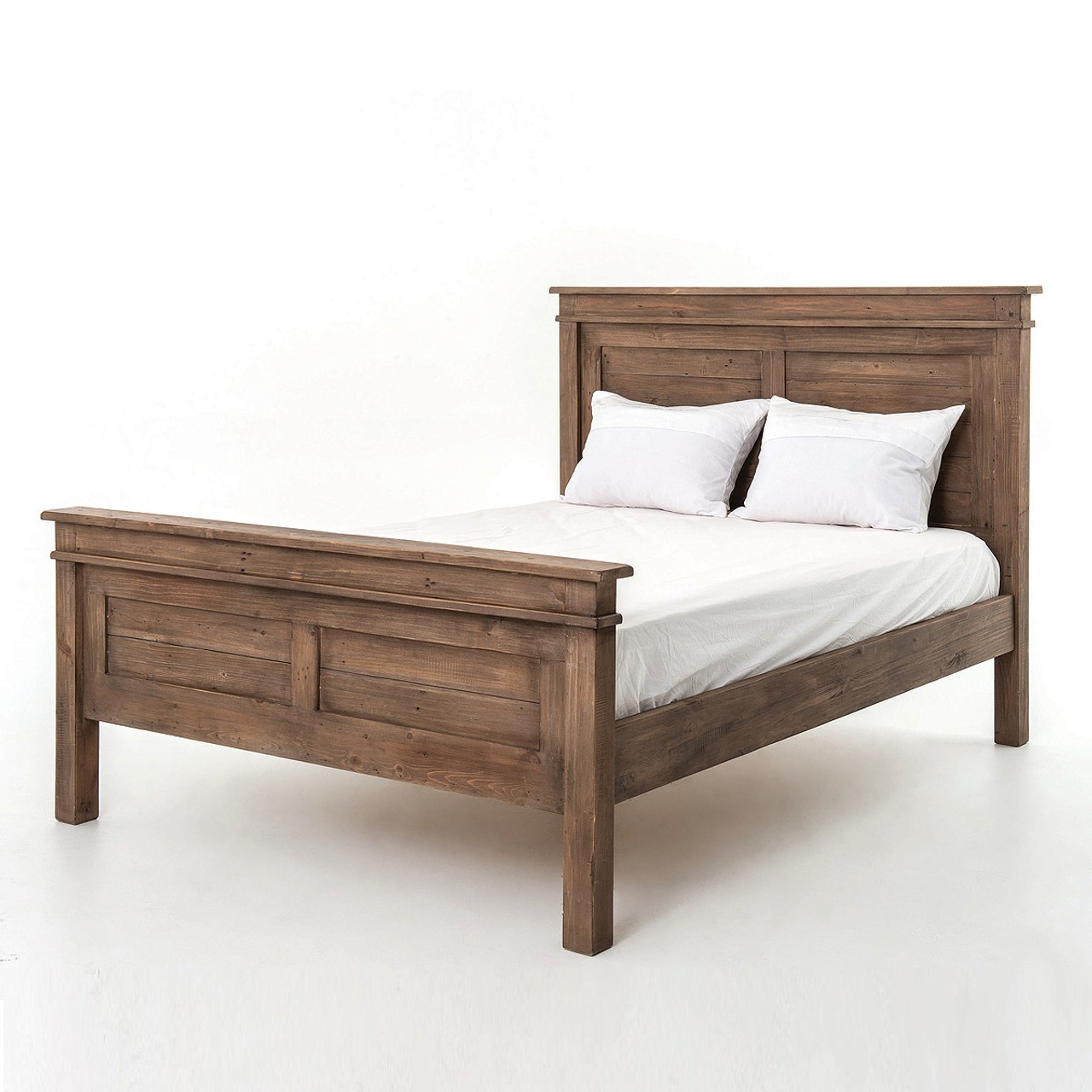 free shipping 3351d 19e7e Sierra Reclaimed Wood Queen Size Platform Bed