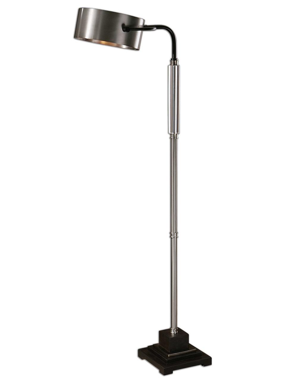 Belding Industrial Standing Floor Lamp Zin Home