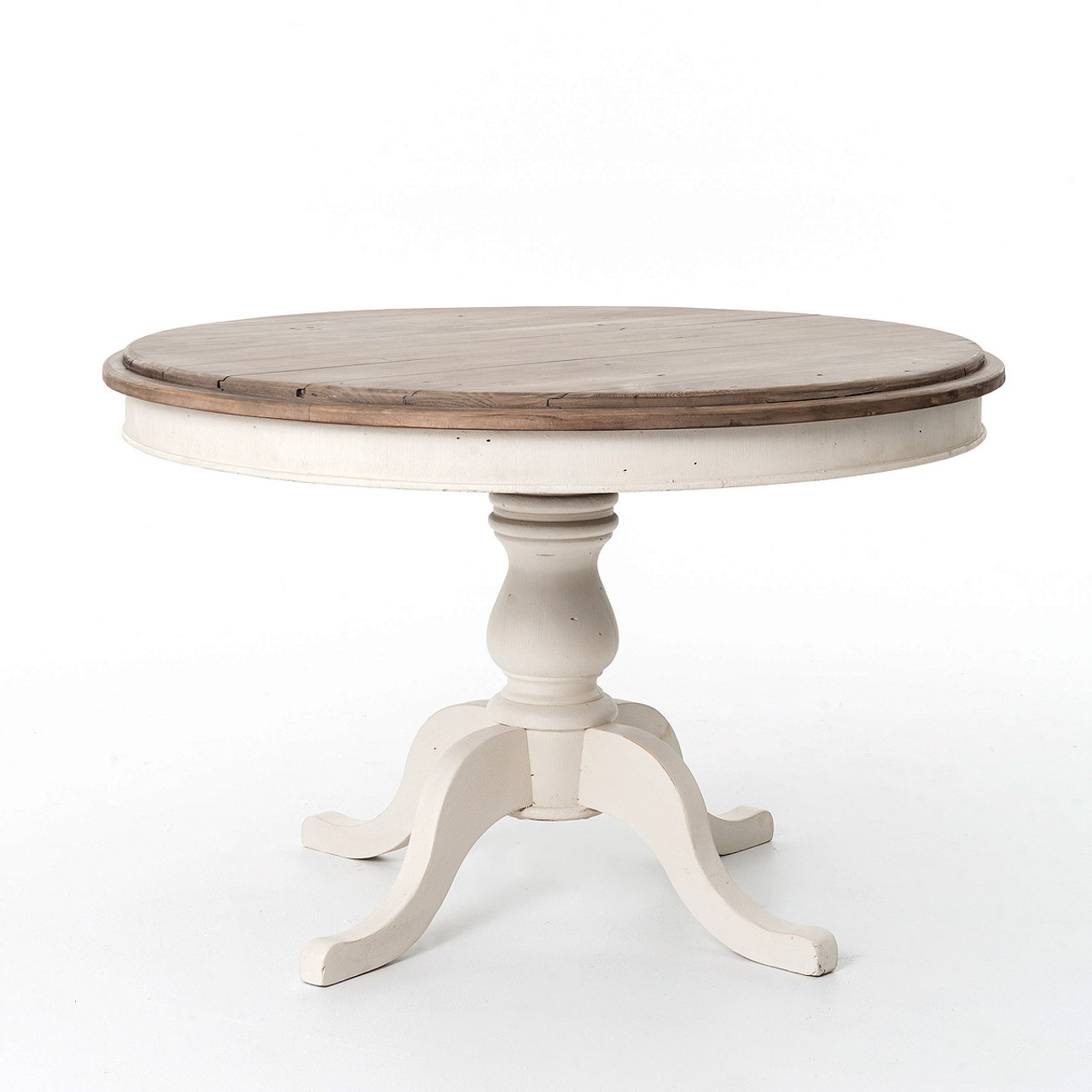 Cottage Round Pedestal Kitchen Table 47\