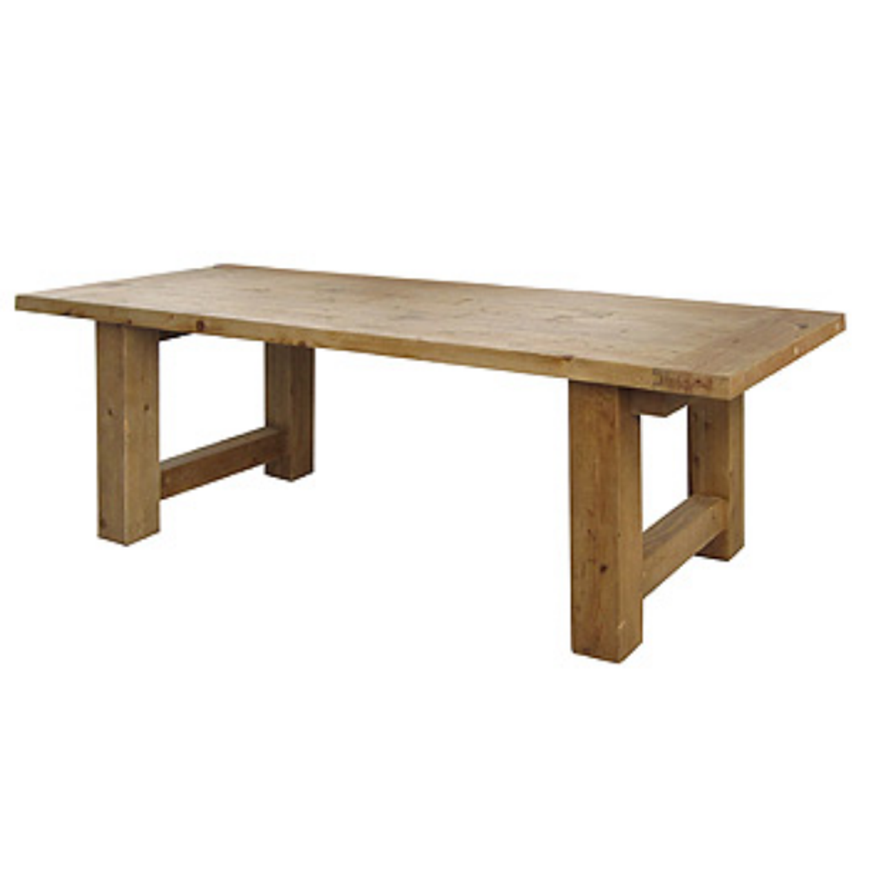 Barn House Wood Dining Room Table 98\
