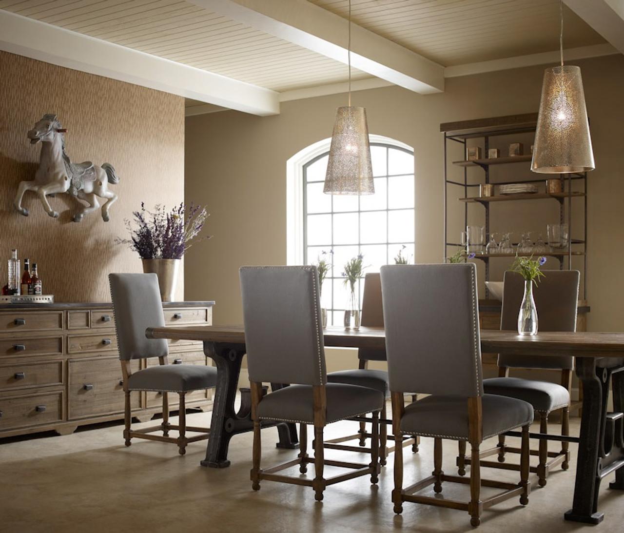 Barnwood Industrial Dining Room Table 86 Zin Home