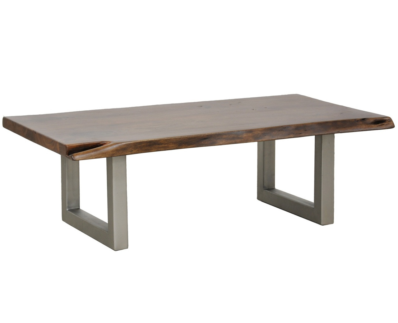 - Montana Solid Wood Metal Leg Coffee Table Zin Home