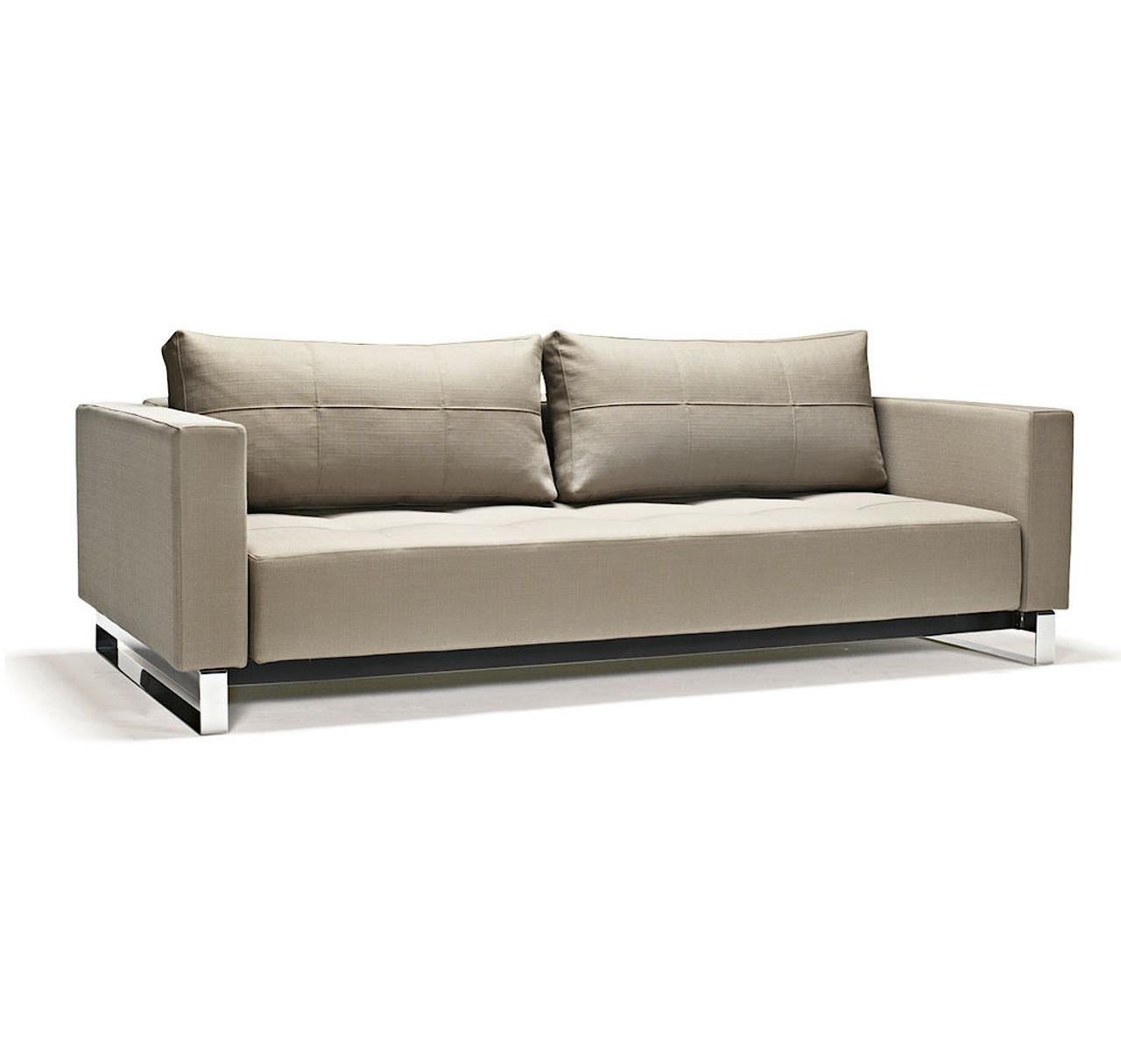 Cassius Deluxe Excess Lounger Sleeper Sofa Bed-Queen