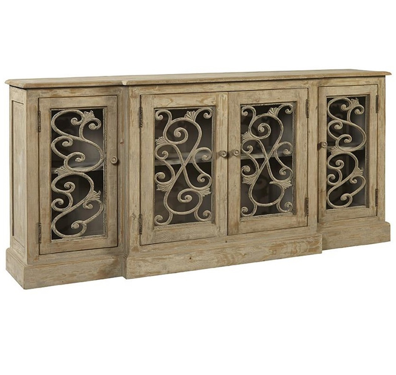 Picture of: Chateau Chinon Rustic Grey Vintage Sideboard Buffet Zin Home