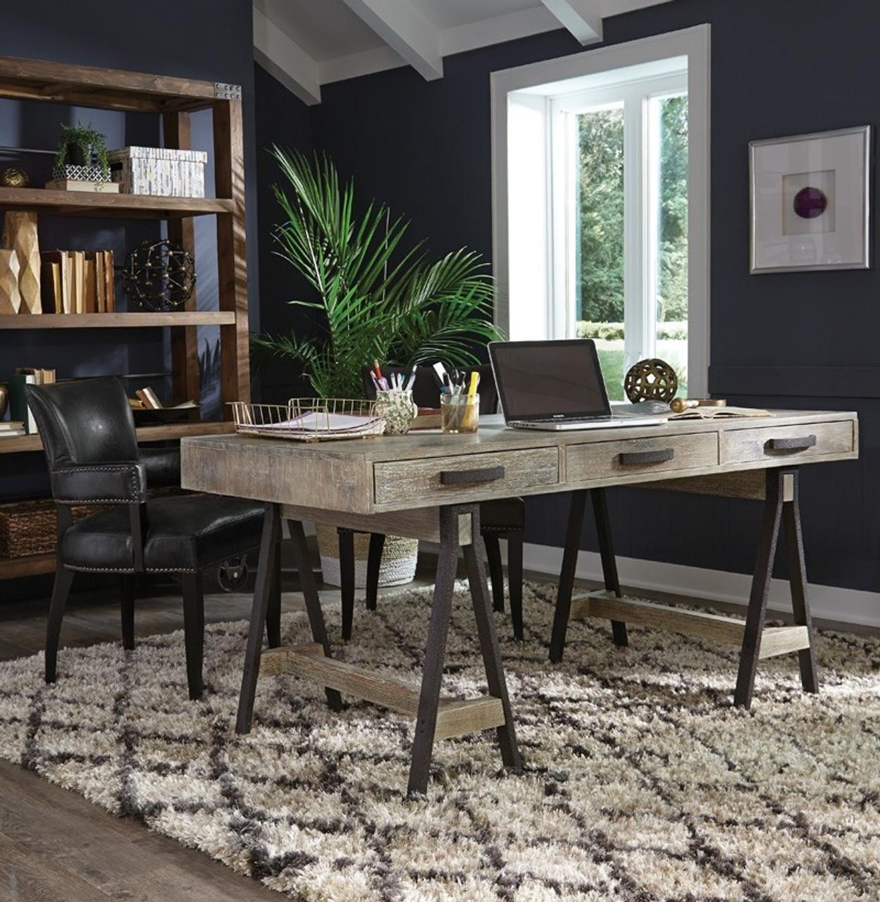 buy online 6f6cc 76570 Juliana Sawhorse Reclaimed Wood Desk