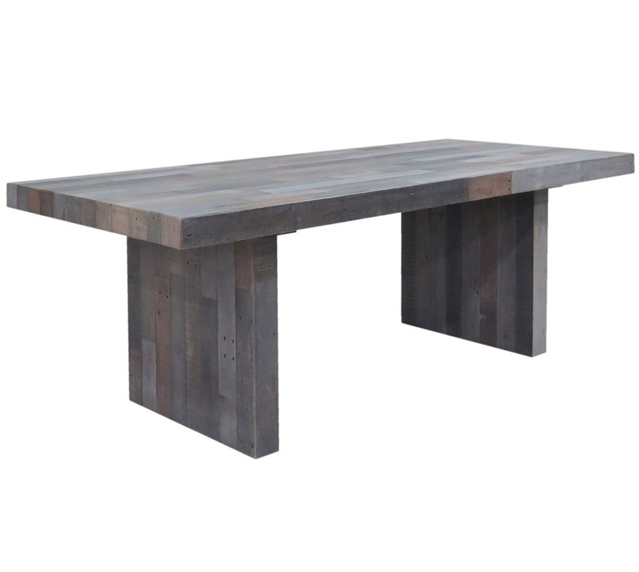 Angora Storm Reclaimed Wood Dining Table 82 Zin Home
