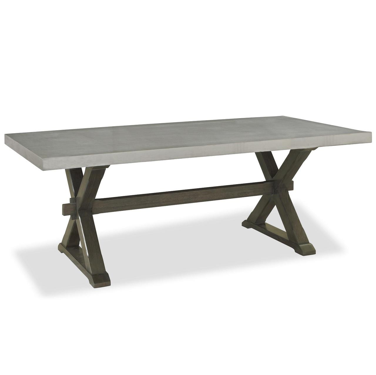 Prime Flatiron Oak Wood Stainless Steel X Base Dining Table Download Free Architecture Designs Lukepmadebymaigaardcom