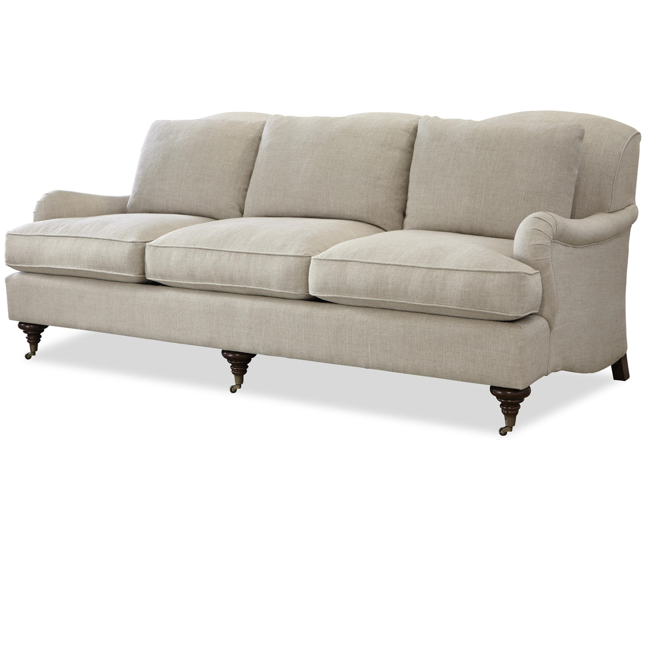 Stupendous Churchill Linen Upholstered English Rolled Arm Sofa Gamerscity Chair Design For Home Gamerscityorg