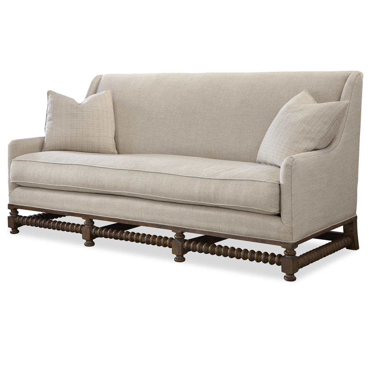 Fabulous Sundance Bohemian Linen Upholstered Sofa Settee Gamerscity Chair Design For Home Gamerscityorg