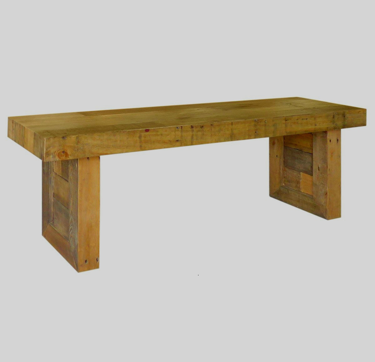 Magnificent Angora Natural Reclaimed Wood Dining Bench 71 Spiritservingveterans Wood Chair Design Ideas Spiritservingveteransorg