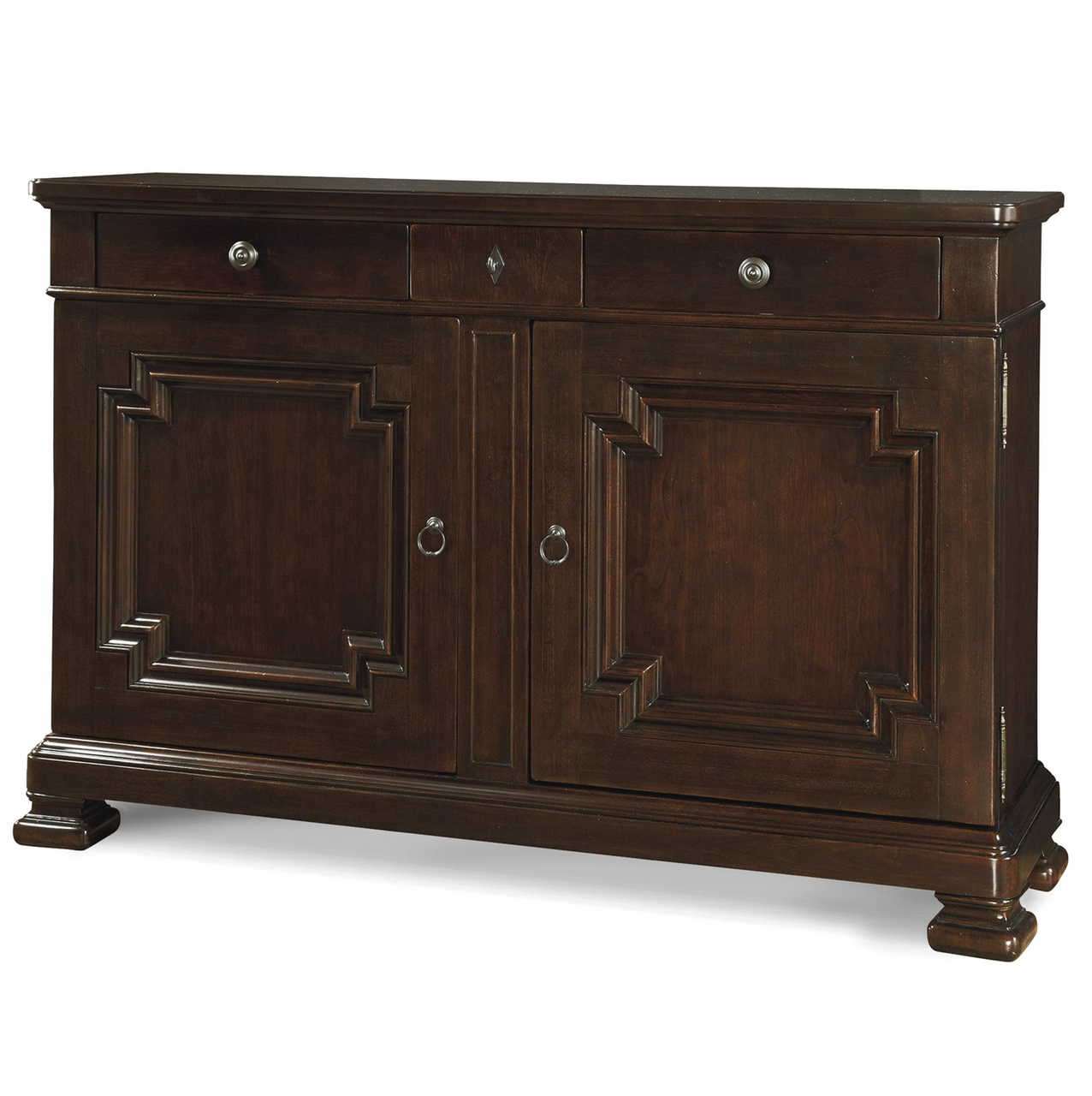 Proximity Cherry Wood Dining Room Credenza Buffet