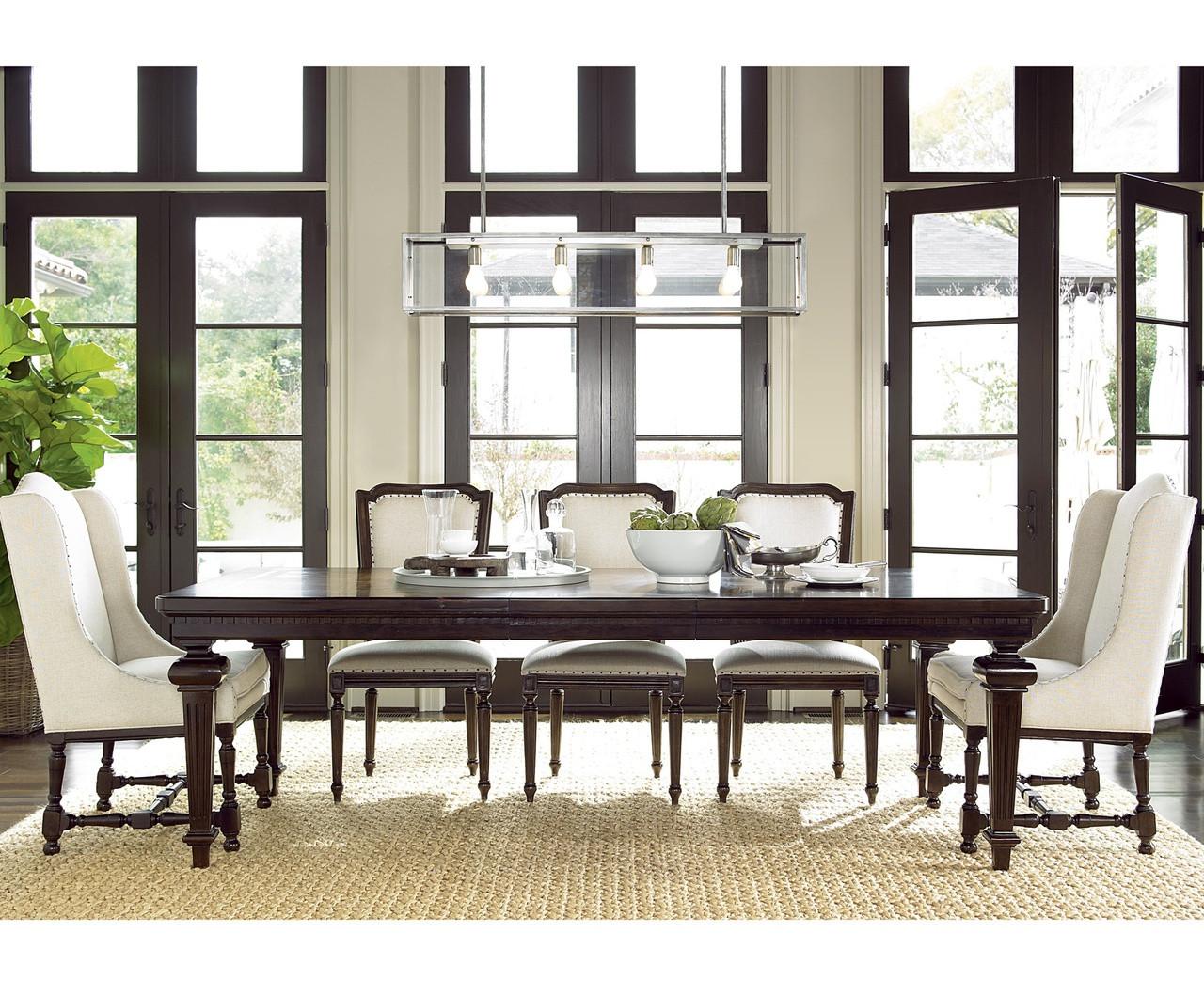 Proximity Extending 9 Piece Dining Room Table Set Zin Home