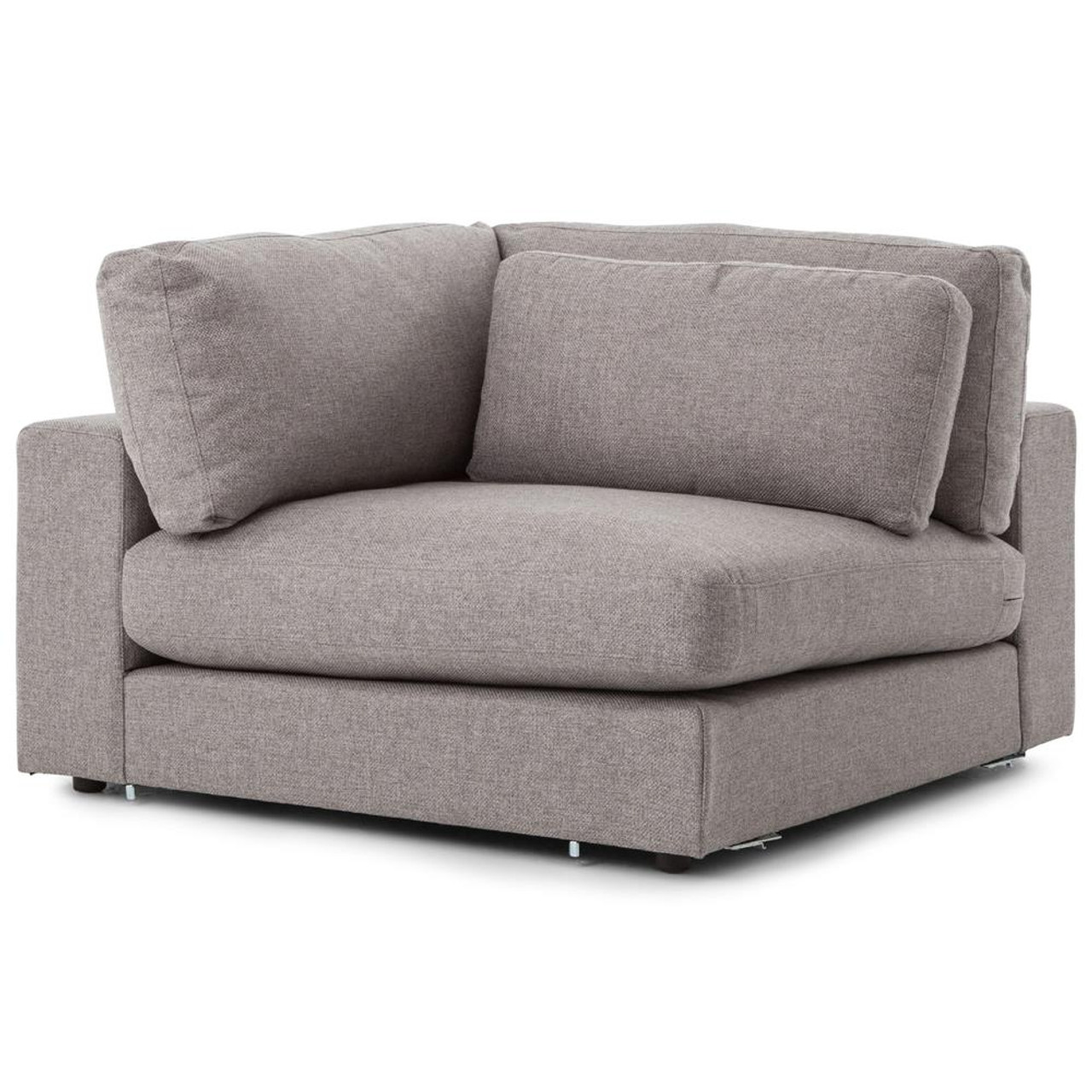 Charmant Bloor Modern Gray Sectional Corner Piece