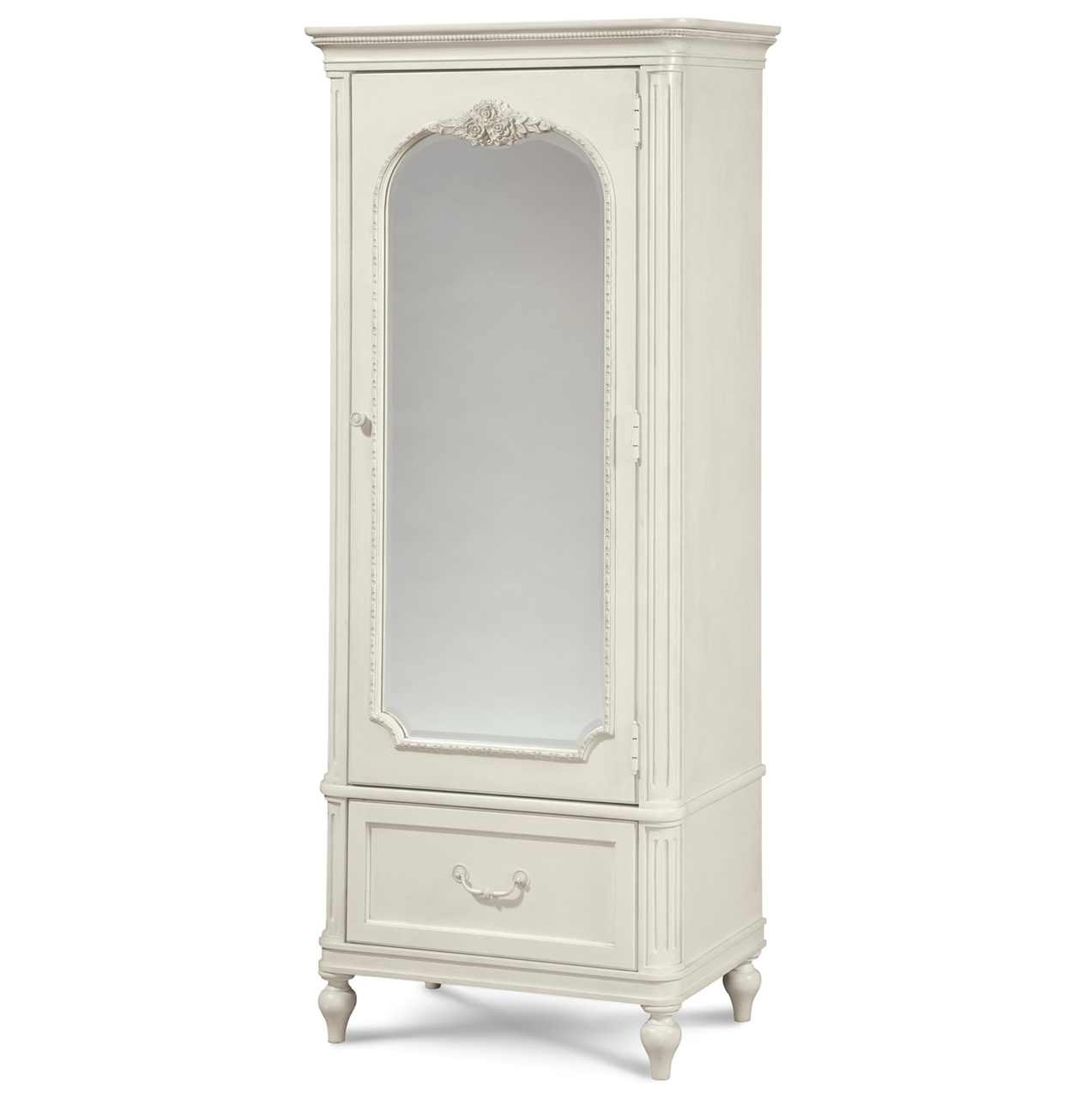Rosalie Kids Bedroom Armoire - White