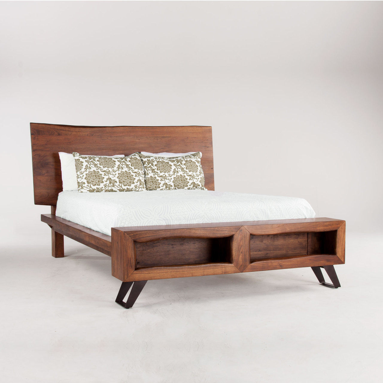 Brooklyn Loft Solid Wood Queen Platform Bed Zin Home
