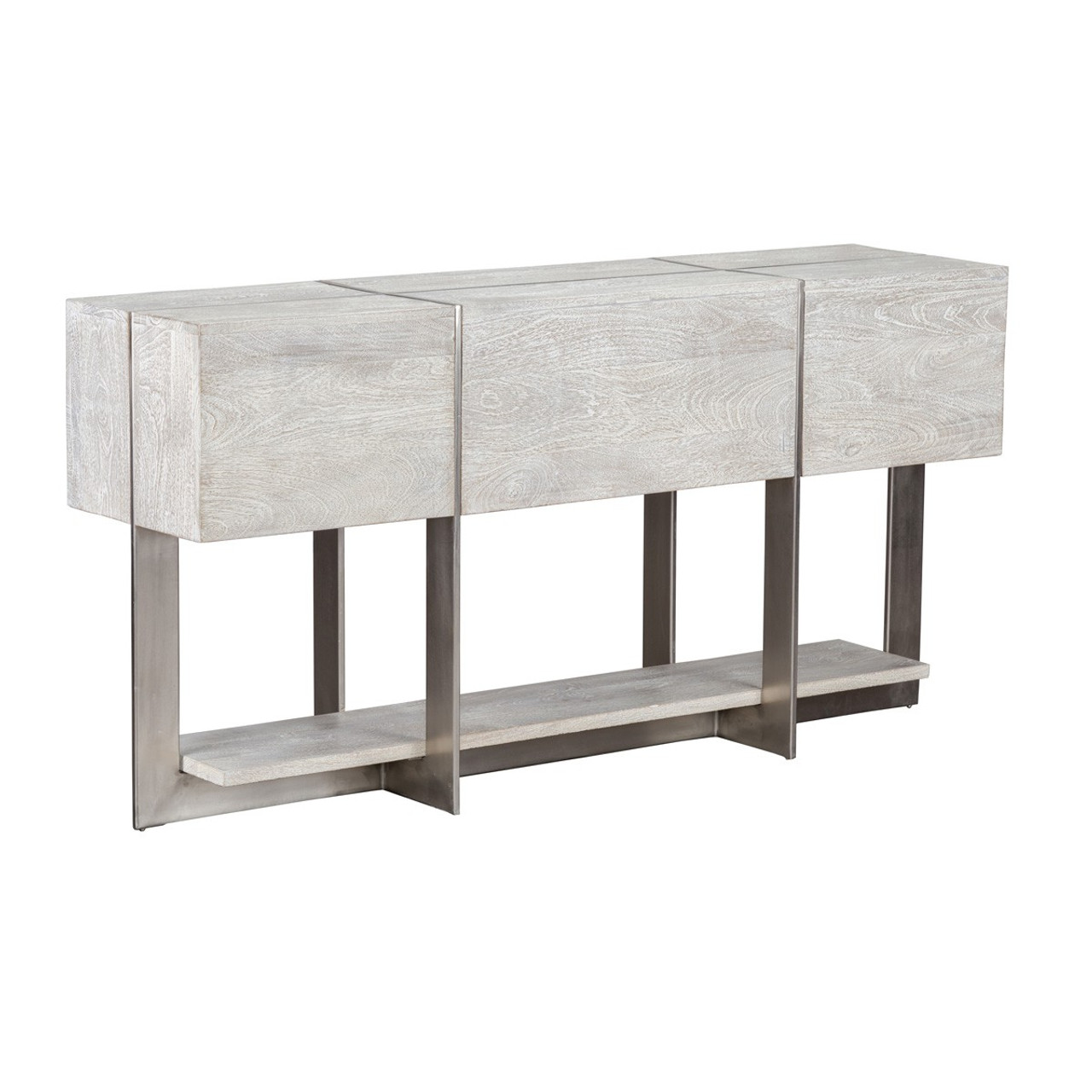 Uptown Whitewashed Solid Wood Console Table. Clifton Console Table