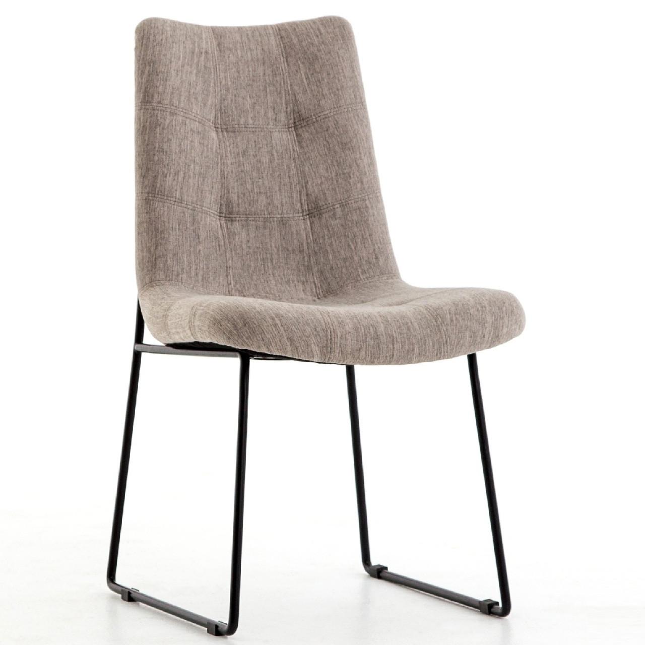 FlannelZin Leg Home Savile Black Dining Iron Chair Camile FcJ3uTlK1