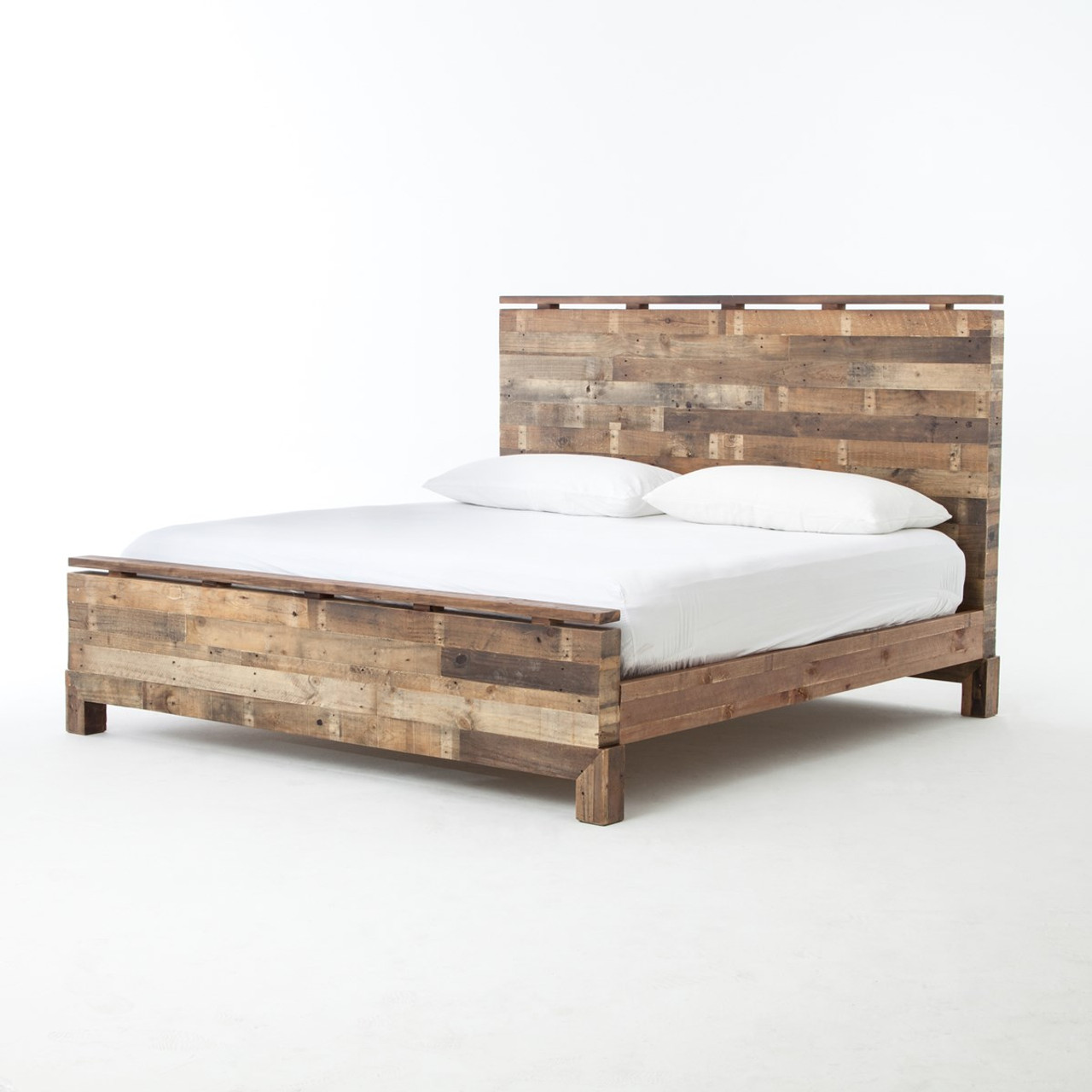 Angora california king platform bed