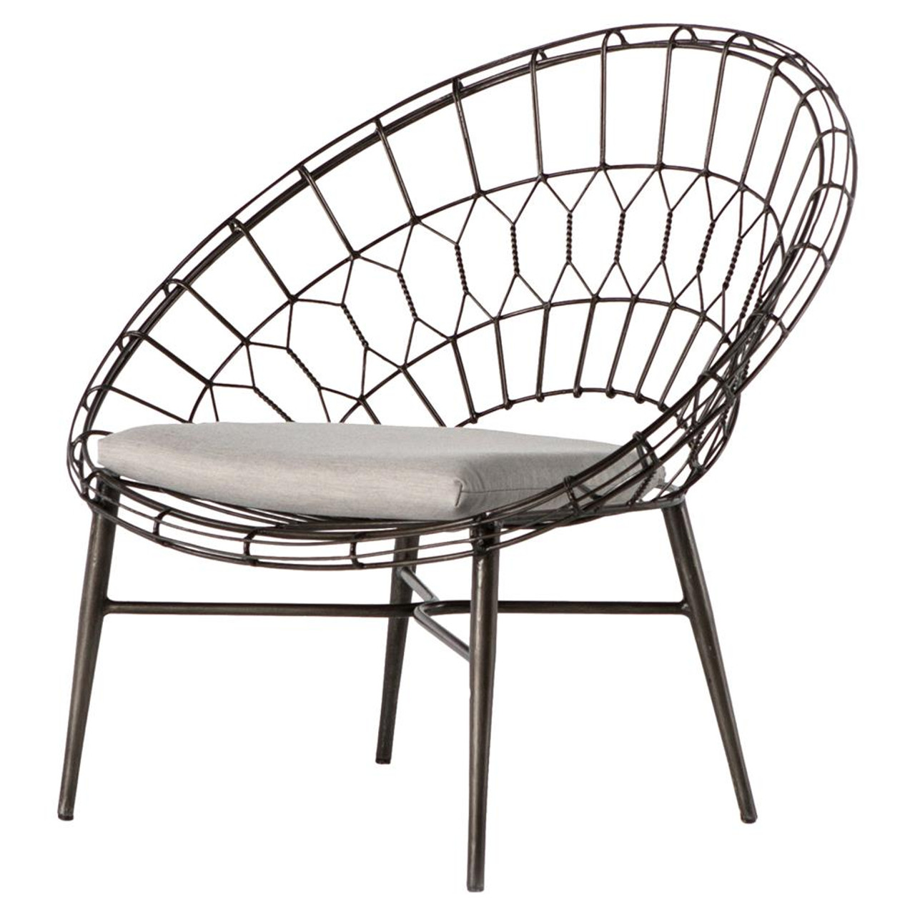 Wicker Home Outdoor Lounge Marquis Metal Sunburst ChairZin MzqSUVp