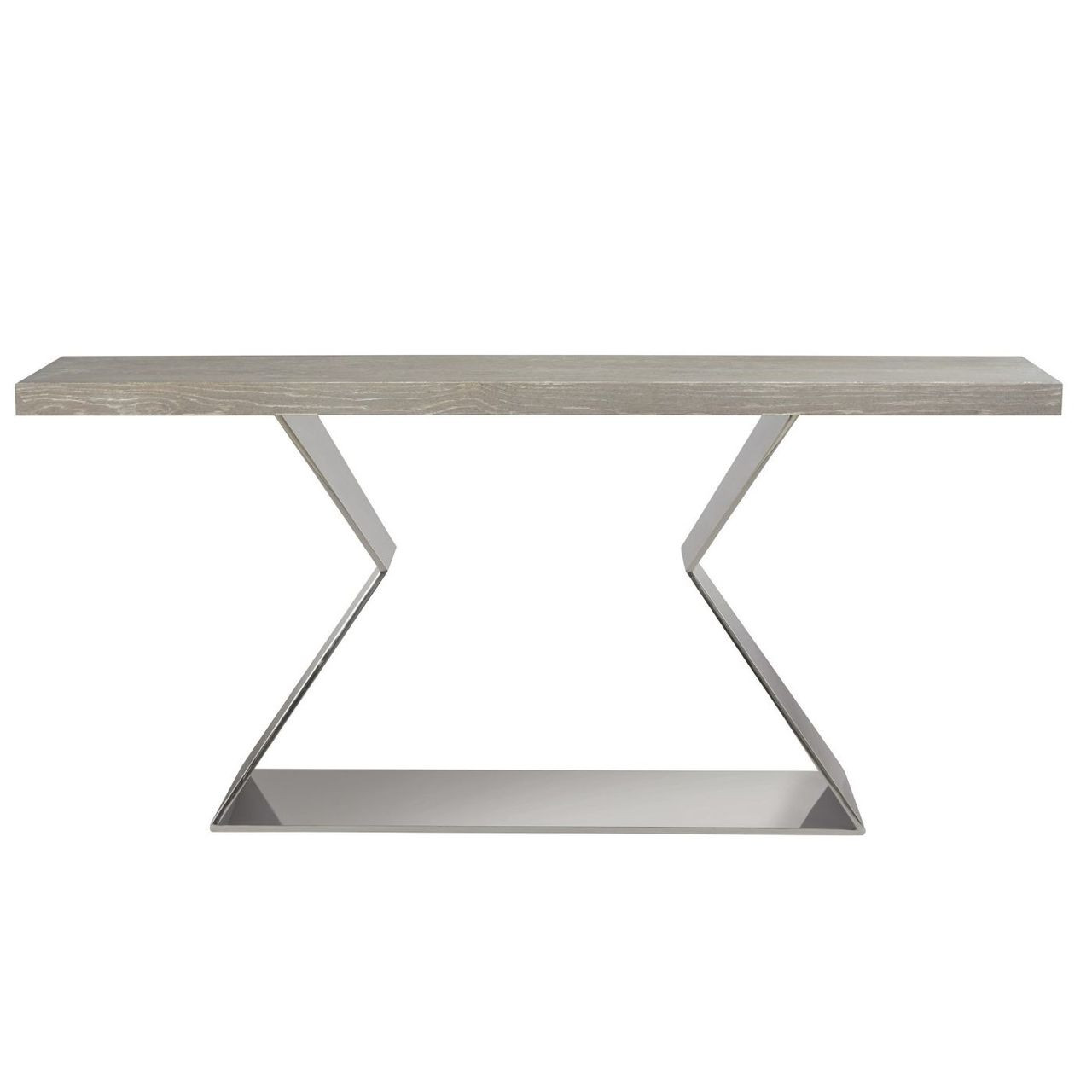 Eloquence Coastal Grey Console Table 72\