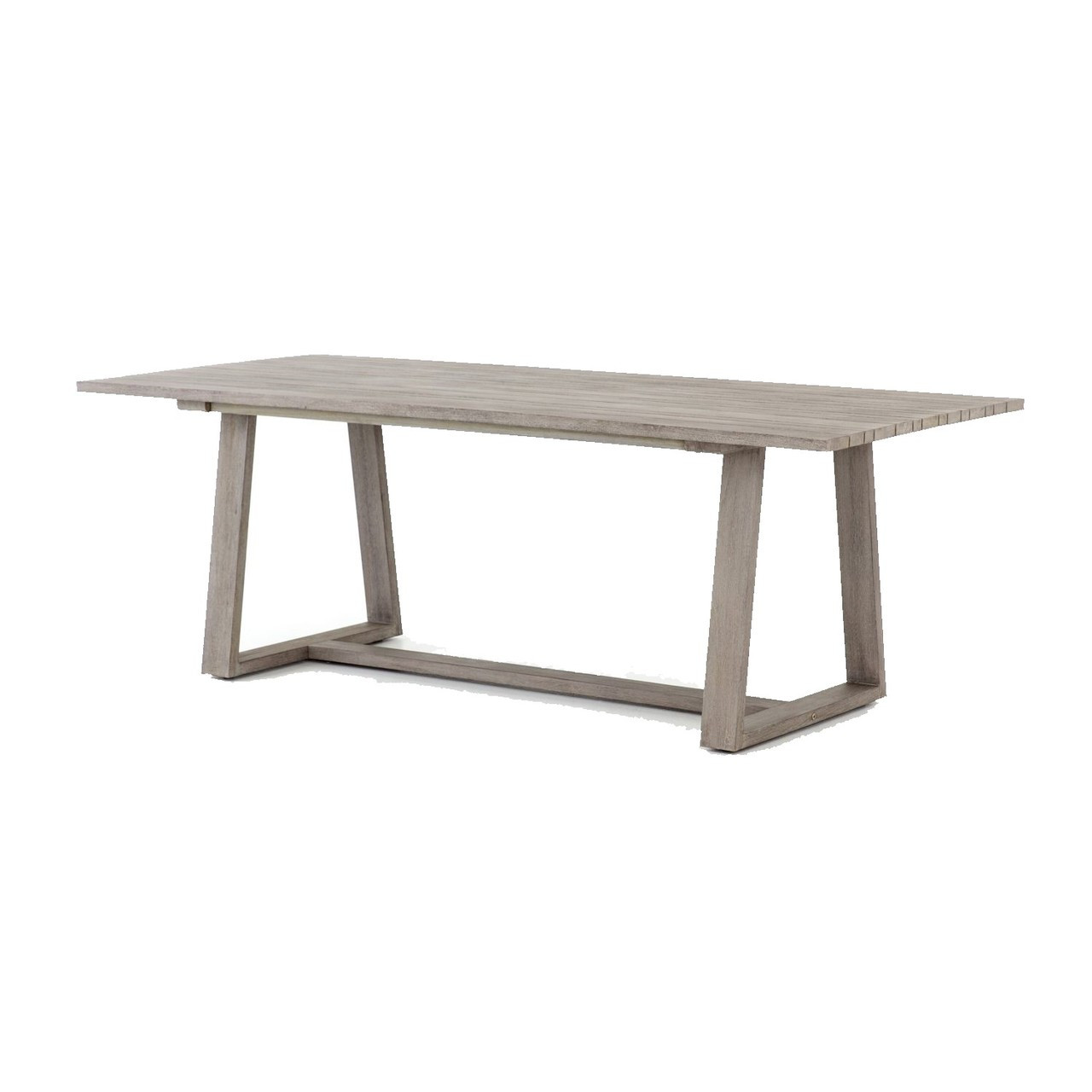 Picture of: Atherton Grey Teak Outdoor Dining Table 87 Zin Home Fourhands