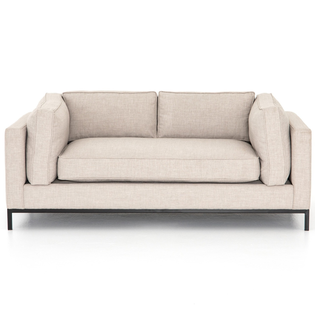 Grammercy Modern Natural Small Sofa 72\