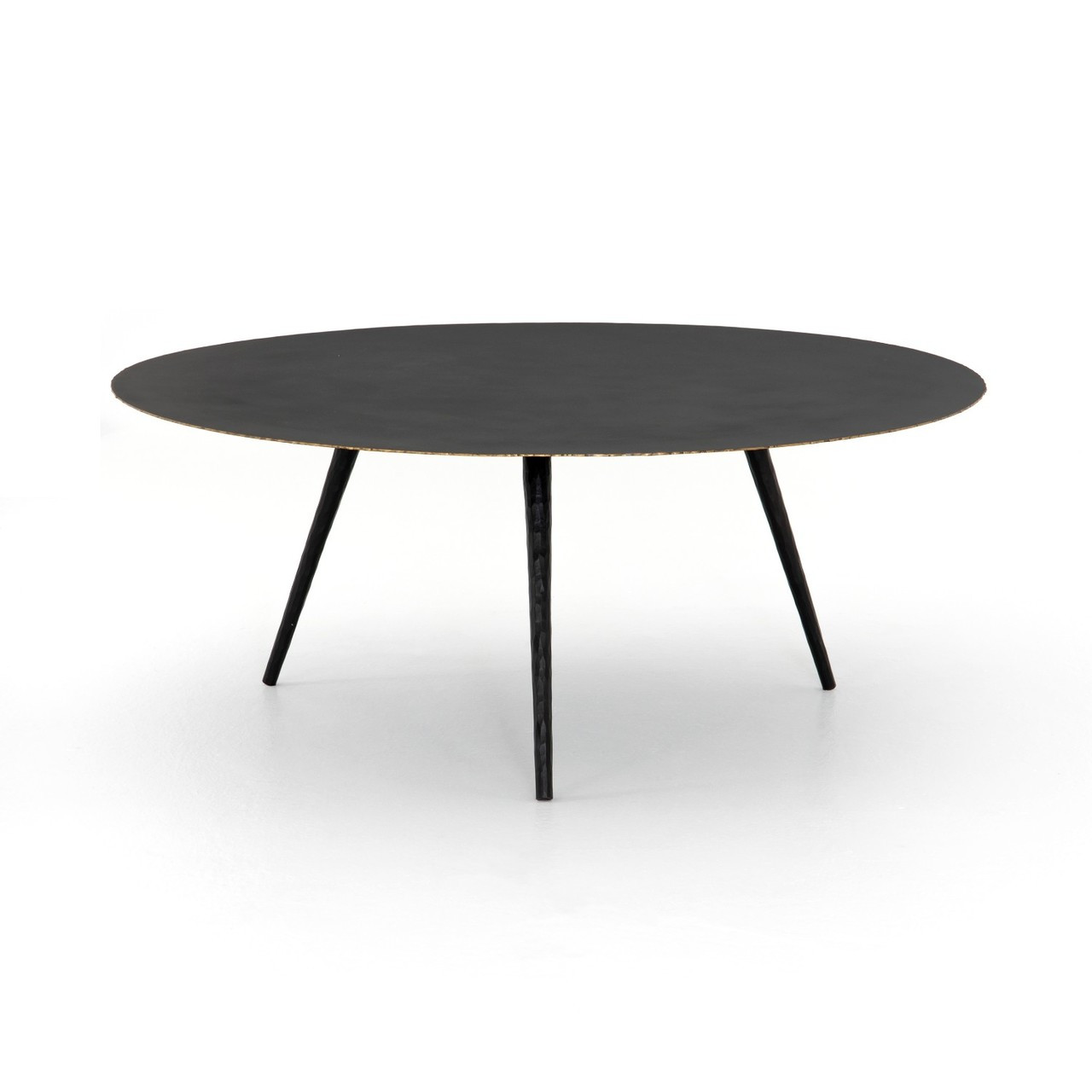 - Trula Iron Tripod Round Coffee Table 39