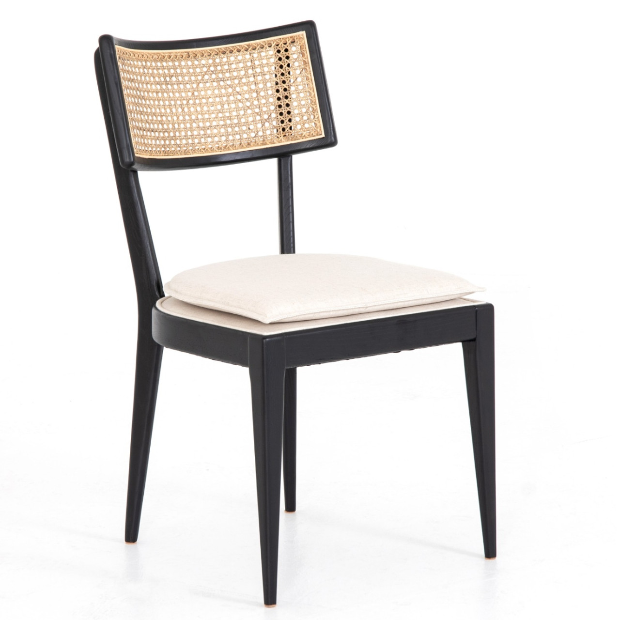Superb Britt Woven Cane Back Dining Chair Ncnpc Chair Design For Home Ncnpcorg