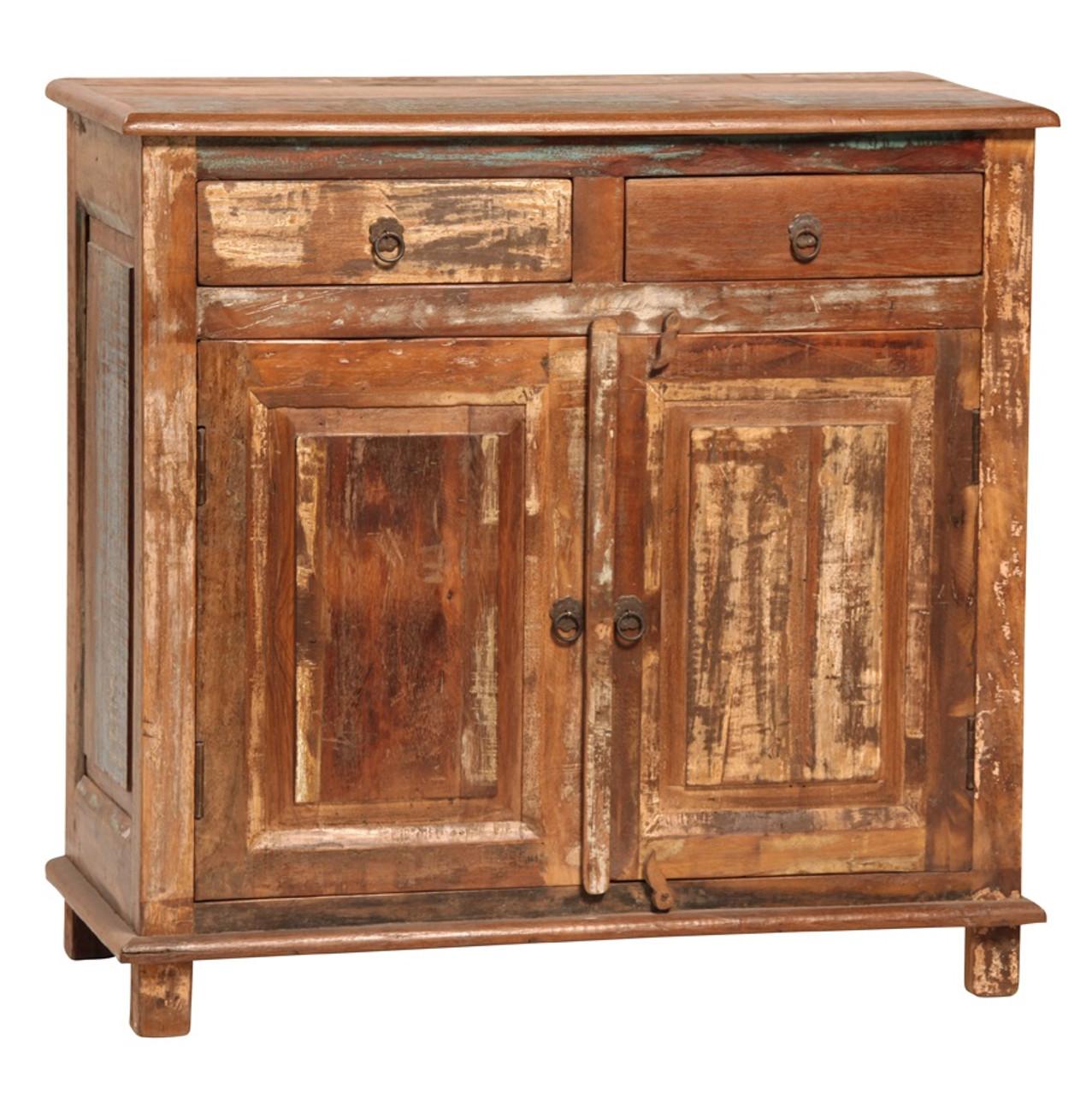 Shabby Chic Vintage 2 Drawer 2 Door Sideboard Zin Home