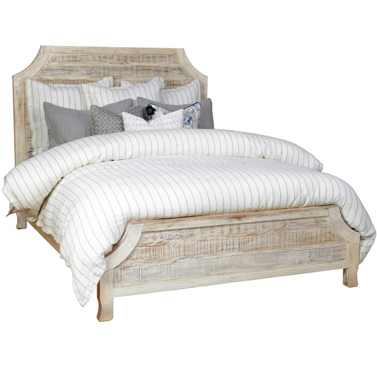 Rustic Reclaimed Wood Aria California King Bed   Zin Home