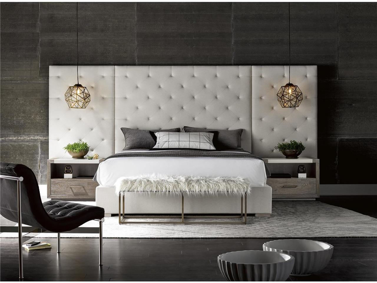 Design Trend Alert: Upholstered Extended Headboards