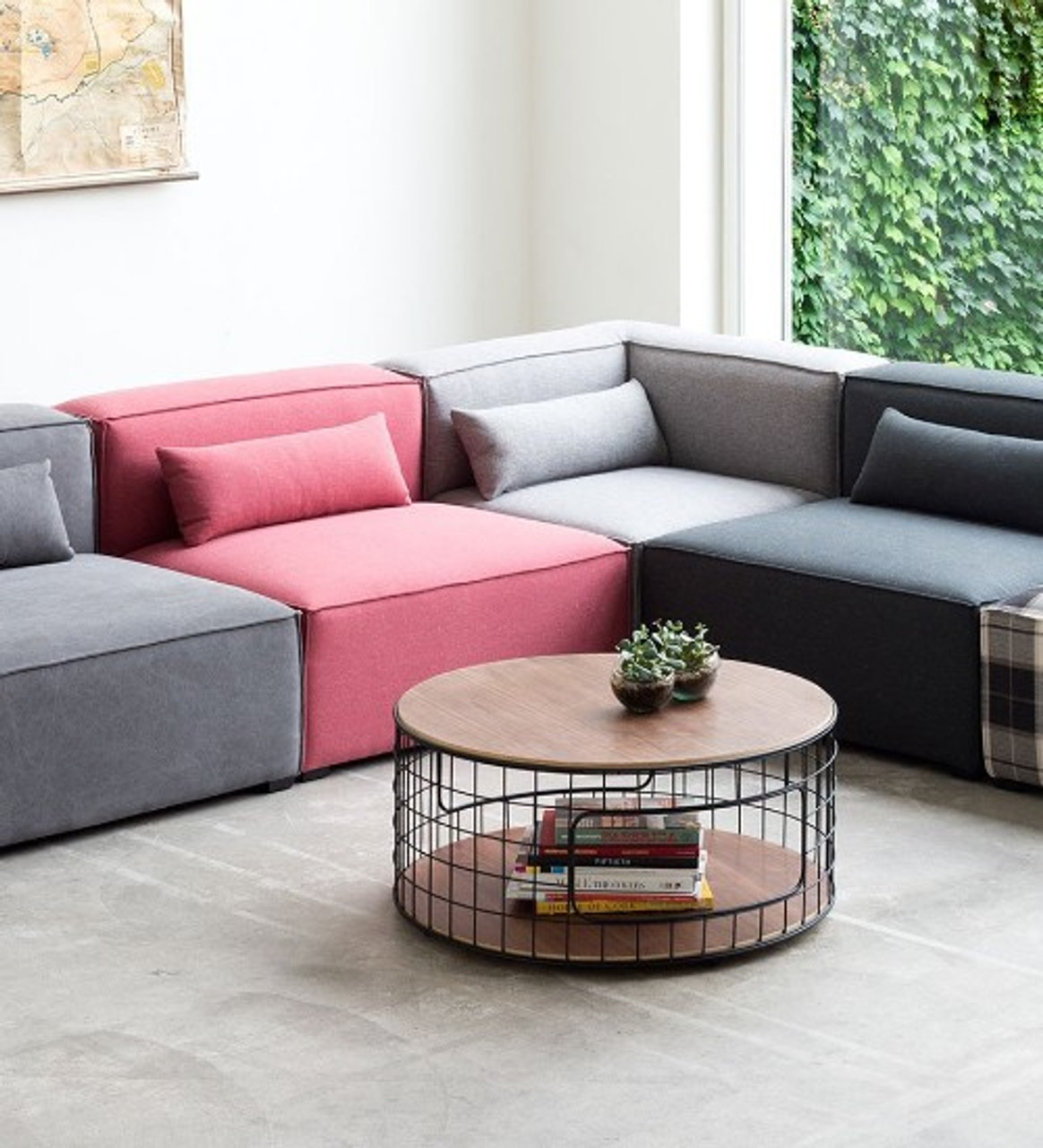 Modular Luxury Sectional Sofa Modern Weather Resistance ...