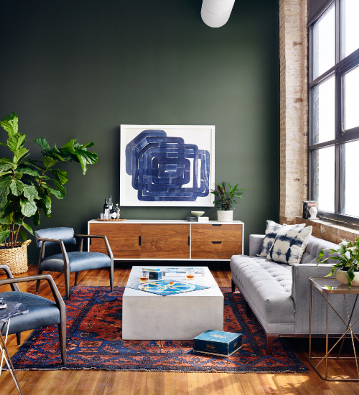 How to Combine Furniture Styles Modern + Traditional , Zin Home