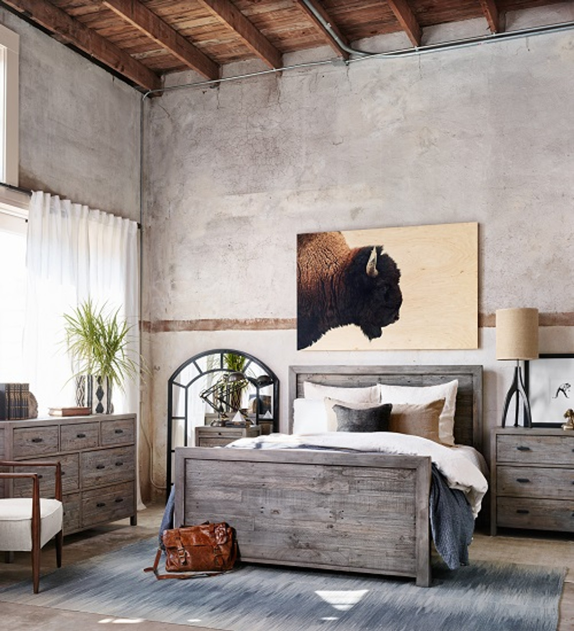 Picture of: How To Choose Modern Rustic Bedroom Furniture Zin Home