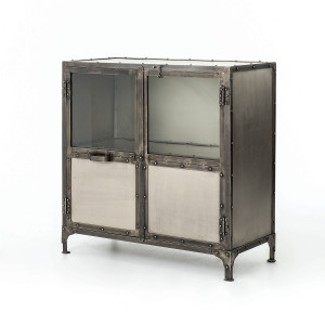 Element Industrial Sideboard-Nickel