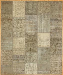 Turkish Patchwork Rugs-Vintage Atmosphere